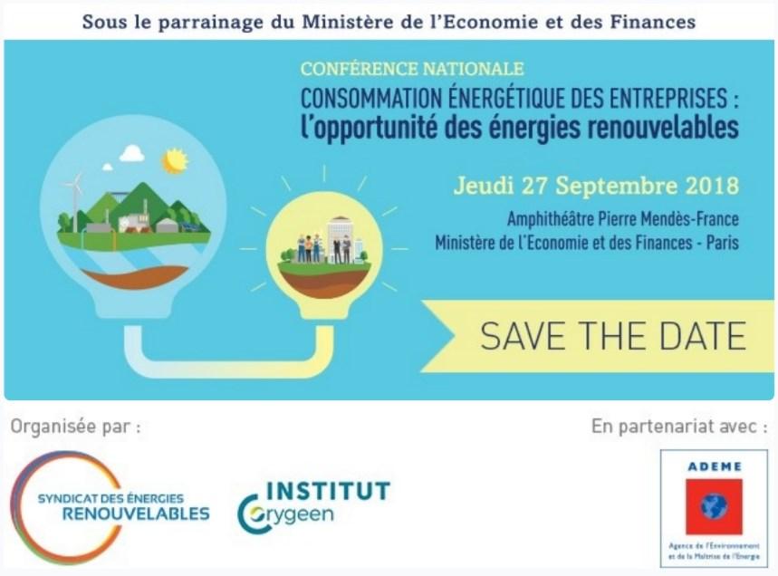 Conférence nationale placée sous le parrainage du Ministère de l'Economie et des finances