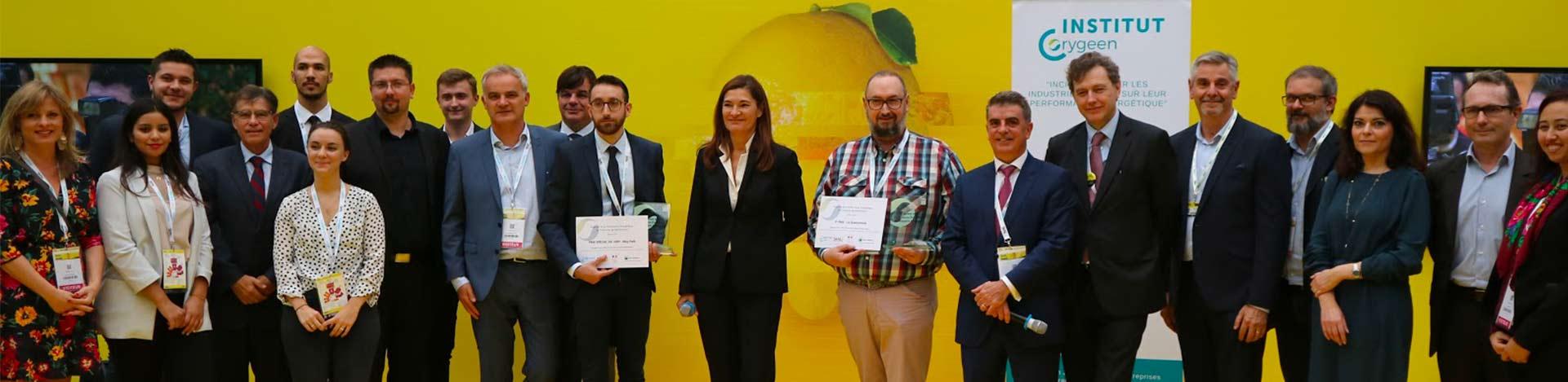 Laureats et organisateurs Trophées 2018