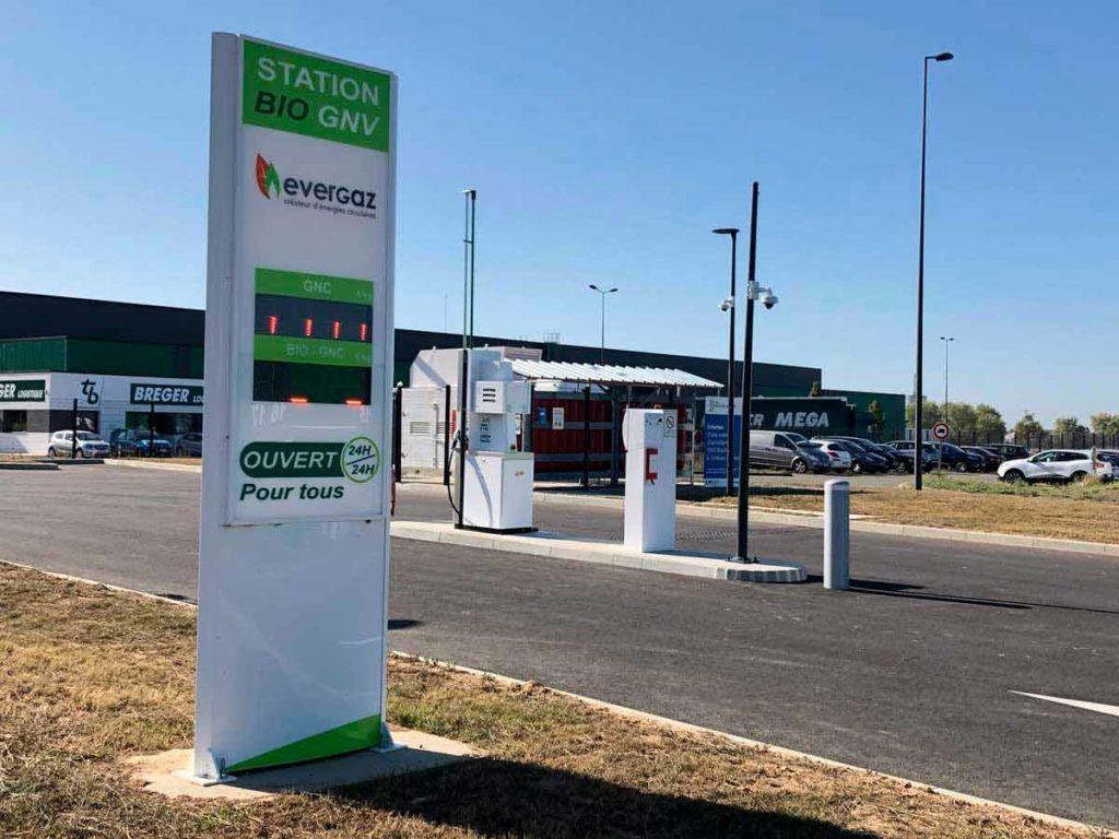 Station BIO GNV - Evergaz